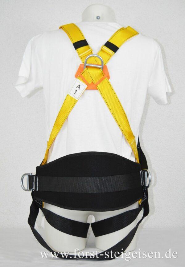 Sicherheitsgurt Klettergurt Kletterausrüstung Baumpflege Fallschutz - Rückansicht