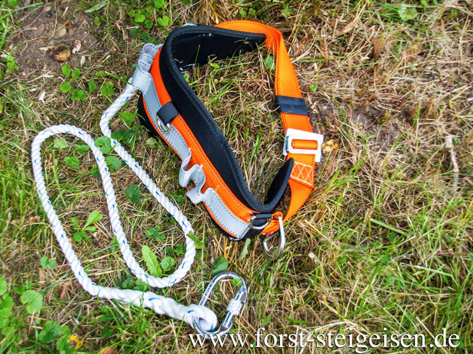 Einstellbar Klettergurt Klettersteig Sicherheitsgurt 22KN//2200kg Sportklettern A